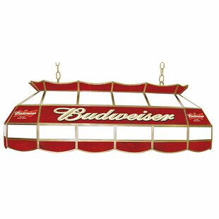 Trademark Global Budweiser 3-Light Pool Table Light