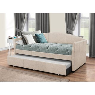 Alvina Twin Daybed with Trundle by Andover Mills SKU:DD310496 Buy