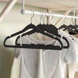 Margaret Velvet Non-Slip Hanger for Suit/Coat (Set of 100)