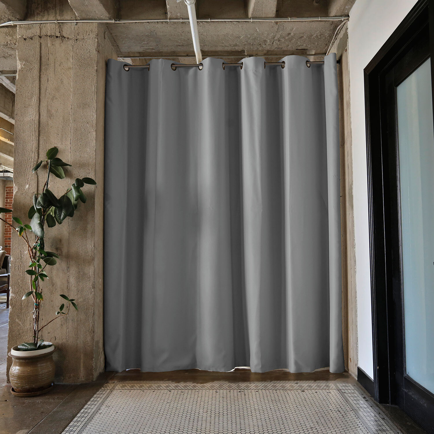 your curtain divider drape intended office for to applied asbienestar co dividers home room decor dazzling design