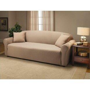 Jersey Box Cushion Sofa Slipcover
