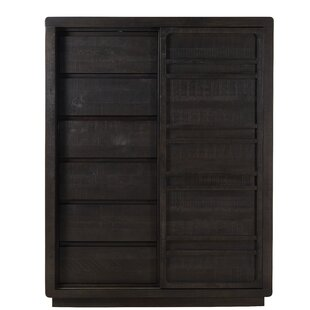 Ehlert Wood Sliding Door 6 Drawer Chest