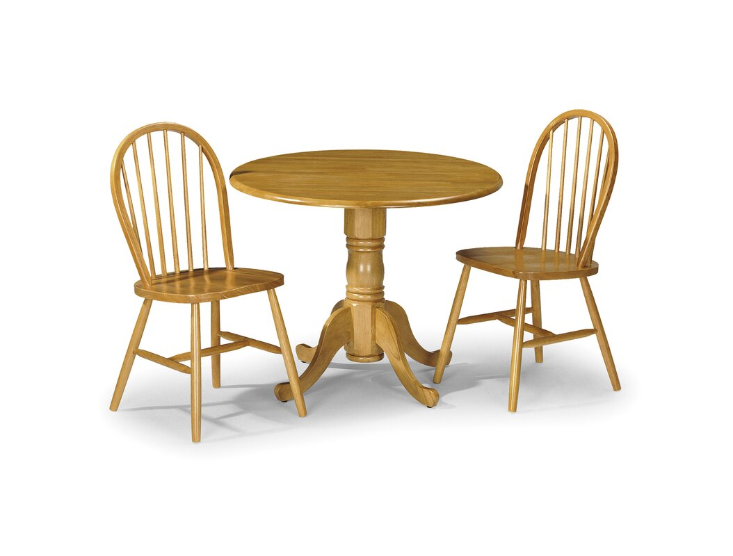 tenney folding dining set with 4 chairs