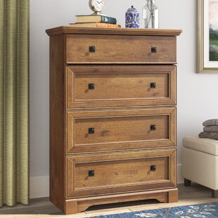 Online Reviews Orviston 4 Drawer Chest by Three Posts
