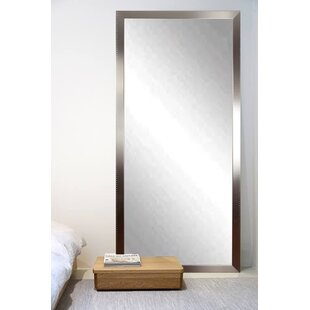 Best Price Embossed Steel Leaning Wall Mirror By Brandt Works LLC