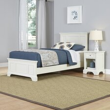 Lafferty Panel 2 Piece Bedroom Set by Alcott Hill