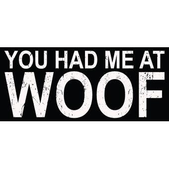 Live Love Woof Motivational Wall Art