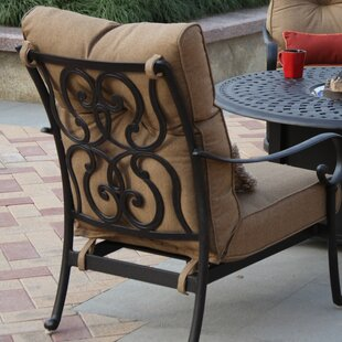 Carlitos Club Chair With Cushion by Darby Home Co Find