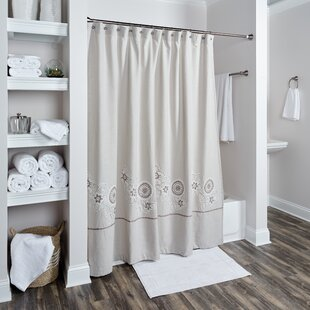 Reviews Lockerbie Cotton Shower Curtain By Darby Home Co