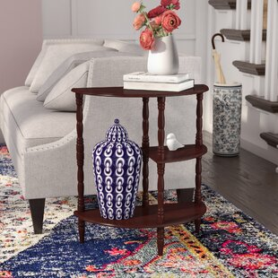 Charlton Home Bulmershe Multi Tiered End Table