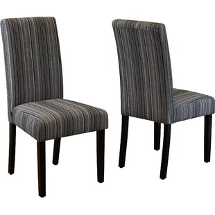 Reviews Vaughn Parsons Chair (Set of 2) ByBeachcrest Home