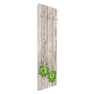 Succulent Wall Mounted Coat Rack By Symple Stuff