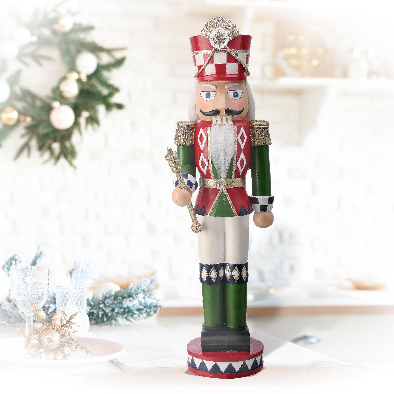 The Holiday Aisle Resin Traditional Nutcracker Wayfair