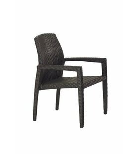 Evo Stacking Patio Dining Chair