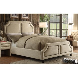Madison Queen Upholstered Platform Bed by DG Casa