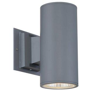 Eurofase Outdoor Downlight Sconce 1 Light LED Deck, Step, or Rail Light