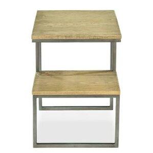 Ironclad End Table by Sarreid Ltd