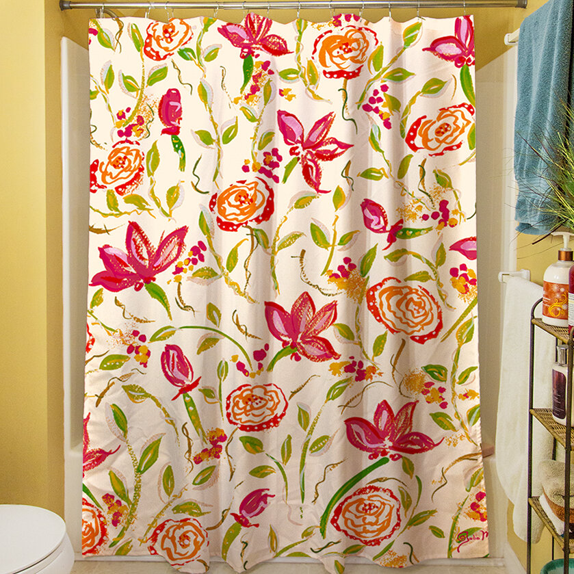 Manual Woodworkers Weavers Julias Fancy Shower Curtain