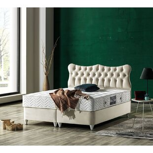 Paisley Queen Storage Sleigh Bed with Mattress