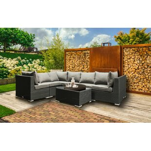 Gillock 7 Piece Sectional Set with Cushions
