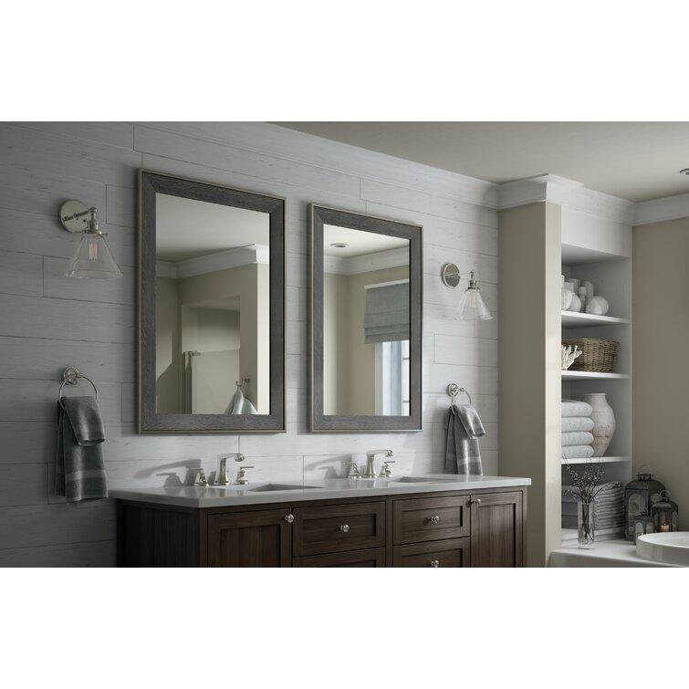Delta Rectangular Standard Traditional Bathroom Mirror Wayfair
