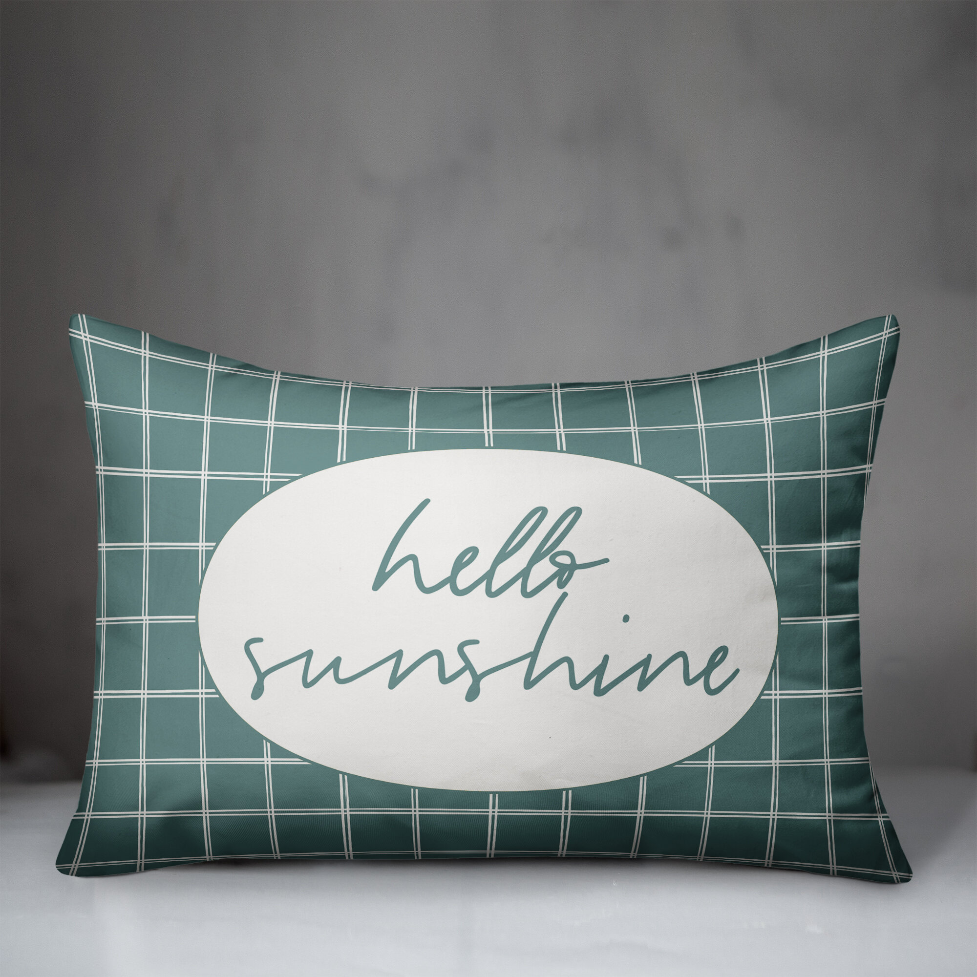 Modern Farmhouse Teal Outdoor Pillows You Ll Love In 2021 Wayfair