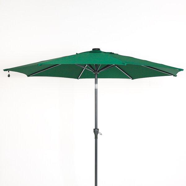Alcott Hill Olszewski 9 Lighted Market Umbrella Wayfair