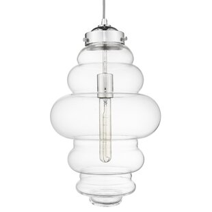 Cabott 1-Light Novelty Pendant by Wrought Studio