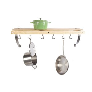 Wall Mounted Pot Racks Youll Love Wayfair