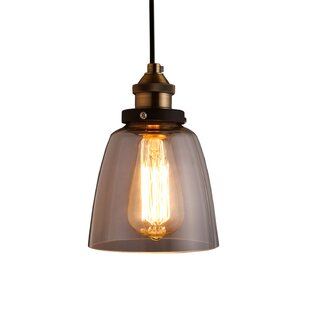 Warehouse of Tiffany Shantelle 1-Light Bell Pendant