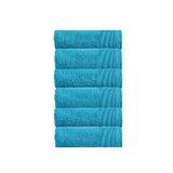 Camelot 6Pc Face Towel Set Zero Twist Cotton (Set of 6)