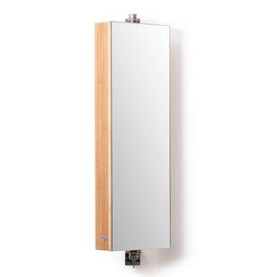Ashbourne 26cm X 71cm Surface Mount Mirror Cabinet By Natur Pur