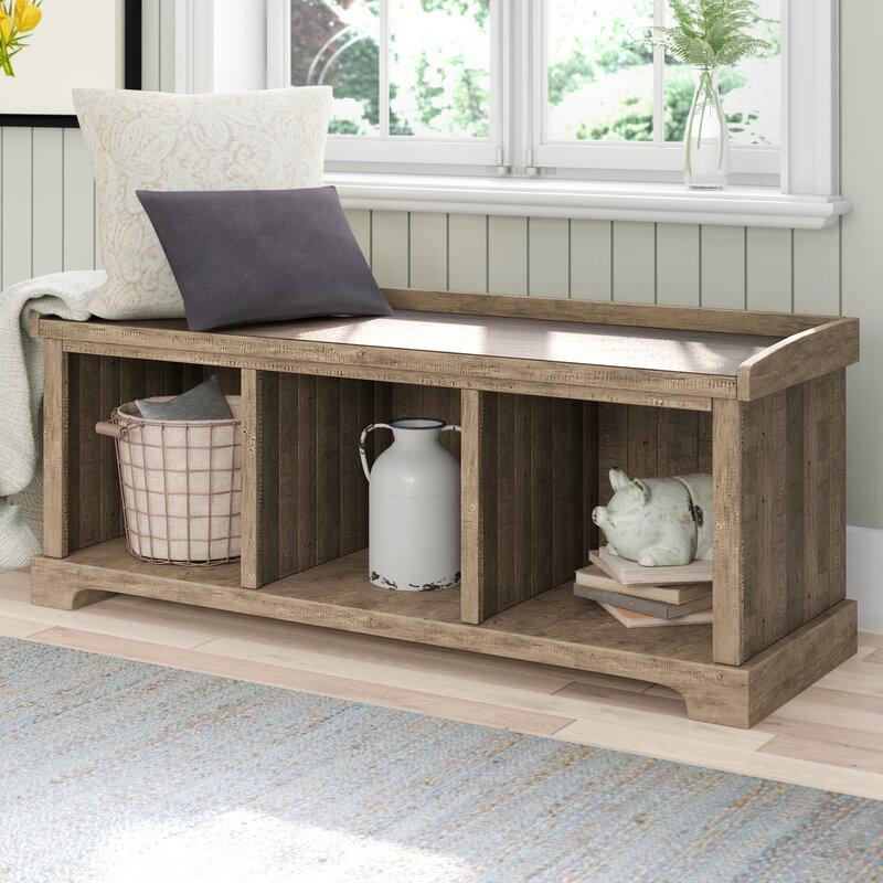 Laurel Foundry Modern Farmhouse Hamilton Storage Bench & Reviews