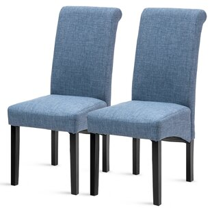 Belmonte Upholstered Dining Chair (Set of 2) by Red Barrel Studio