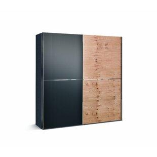 Bentz 2 Door Sliding Wardrobe By Ebern Designs