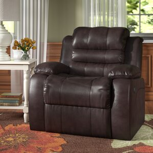 Lindsay Leather Recliner & Italian Leather Recliner | Wayfair islam-shia.org