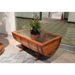Wakefield Valley Half Cask Coffee Table by Fleur De Lis Living