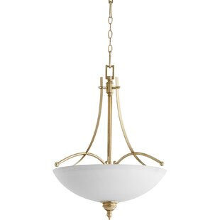 Alcott Hill Eastchester Traditional 4-Light Bowl Pendant
