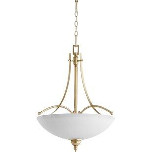 Alcott Hill Eastchester Traditional 4-Light Bowl Pendant