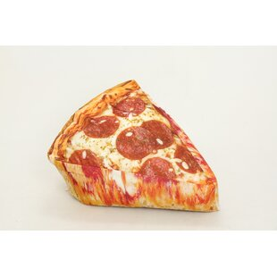 Pizza Small Bean Bag Chair & Lounger By Wow Works LLC