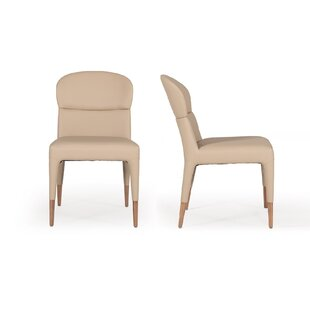 Mclain Modern Upholstered Dining Chair (Set of 2)