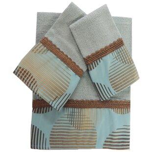 Dream 3 Piece 100% Cotton Towel Set