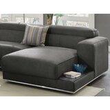 Stewartville Upholstery Modular Chaise Lounge by Orren Ellis