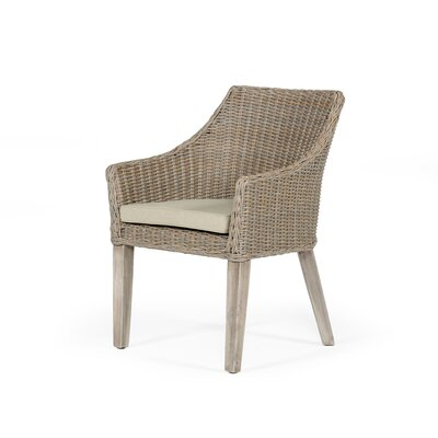 Rosecliff Heightsvinci Patio Dining Armchair With Cushion Rosecliff Heights Dailymail