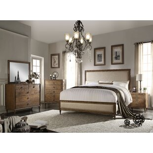 Gracie Oaks Caudell Panel Bed Configurable Bedroom Set