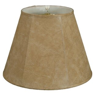 12 Faux Leather Deep Empire Lamp Shade