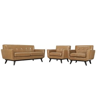 Corrigan Studio Saginaw Leather 3 Piece L..