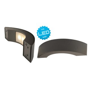 3-Light LED Outdoor Sconce By Home Loft Concept