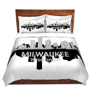 East Urban Home City IV Milwaukee Wisconsin Duvet Set