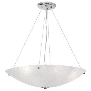 Orren Ellis Sallee 4-Light Bowl Pendant